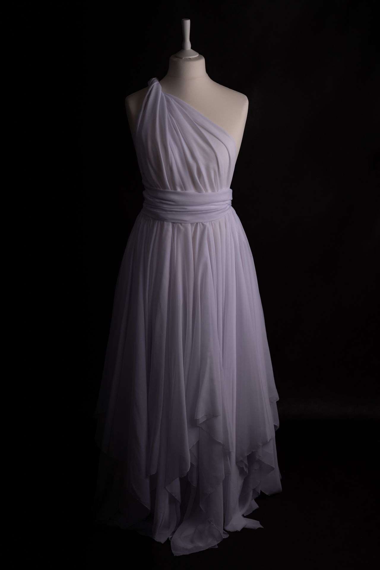 Infinity Dress blanche (voile et chiffons)