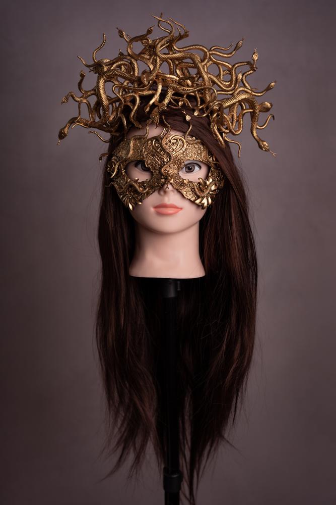 Masque & coiffe de Meduse