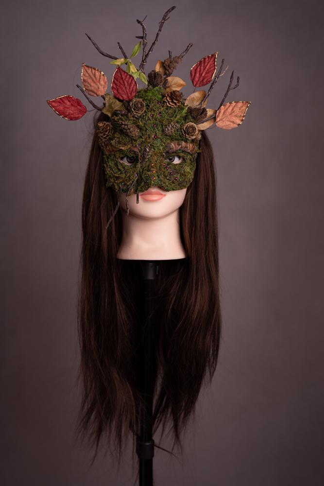 Masque de Cerf moussu